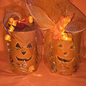 Other - Tea light Halloween decor holders